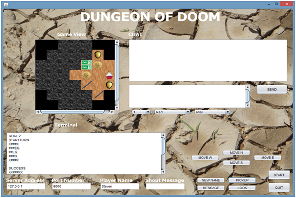 Dungeon Game